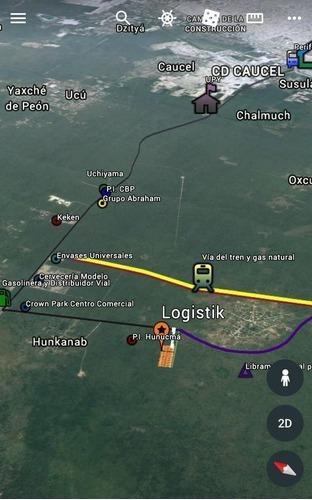 hunucma terreno insdustrial logistik