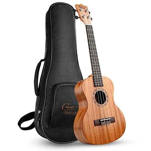 huracán tenor ukulele ukm-3 26 pulgadas profesional mahoga