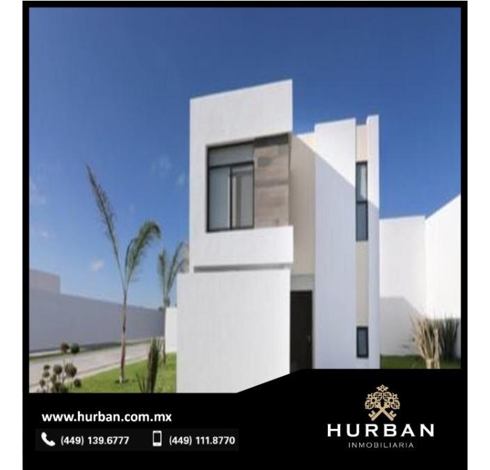 hurban vende casa en fraccionamiento al norte de la ciudad a 15 min, de la uaa