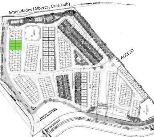 hurban vende terreno en coto al norte.
