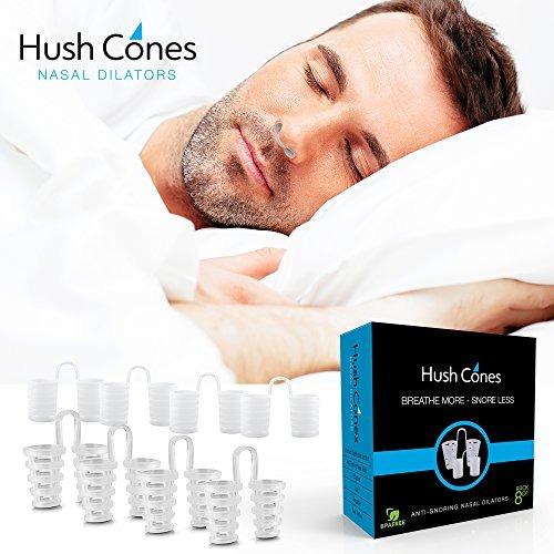 hush cones dilatadores nasales ventosas antiro