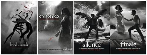 hush hush  crecendo silence finale oferta libro c/u
