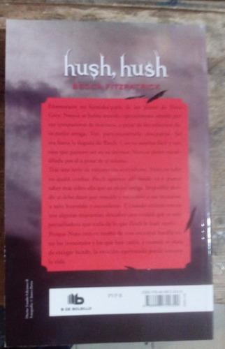 hush hush. libro 1 saga hush hush. becca fitzpatrick.