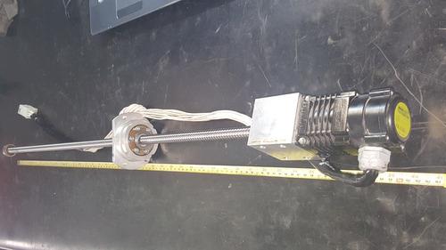 husillo cnc 85 cm con motor a pasos power industrial