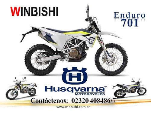 husqvarna 701 enduro tenela con el 50% en 12 cuotas tasa 0%