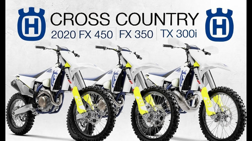 husqvarna fx 350 cross country en motolandia