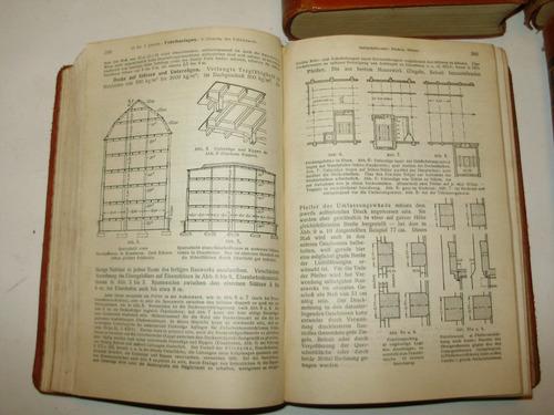 hutte des ingenieurs taschenbuch 4 tomos verlag berlin 1927
