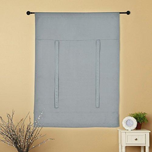 h.versailtex aislada termal del apagón gris cortinas tie ha