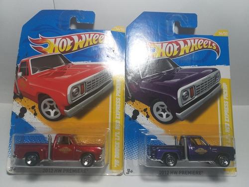 hw premiere 2012 dodge li'l red express pickup 78 escal 1/64