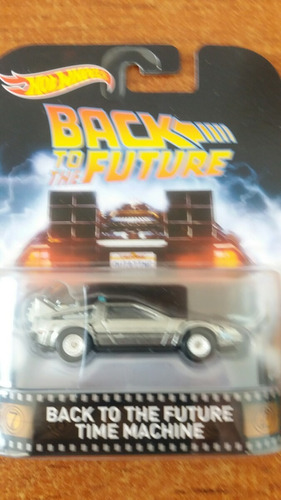 hw retro back to the future time machine
