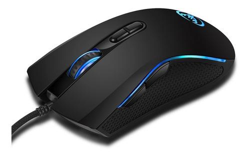 hxsj a869 wired gaming mouse 3200 dpi 7 botões 7 cor led