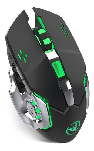hxsj m70 2.4g sem fio mouse recarregável mouse