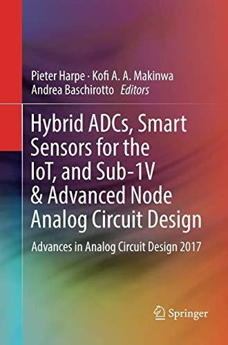 hybrid adcs, smart sensors for the iot, and sub-1v & ad