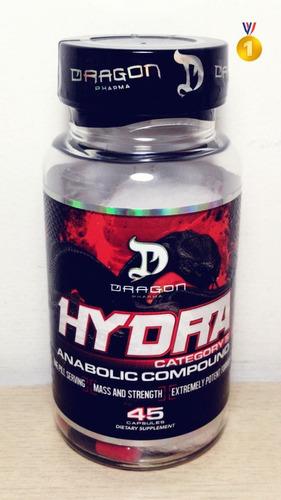 hydra dragon pharma 45 caps -envio imediato ! o melhor