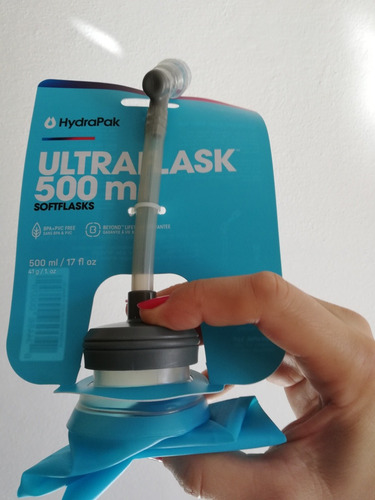 hydrapak 500ml sachet ultra flasks no salomon hidratación