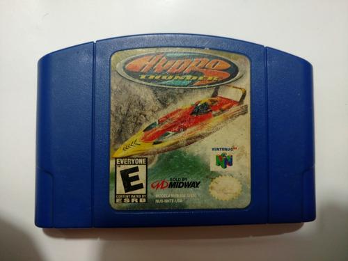 hydro thunder juego de nintendo 64 n64