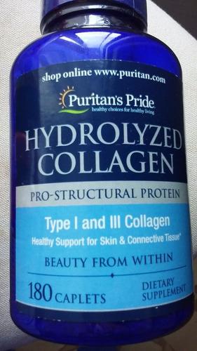 hydrolyzed collagen 4000 mg. colageno piel, uñas, pelo.