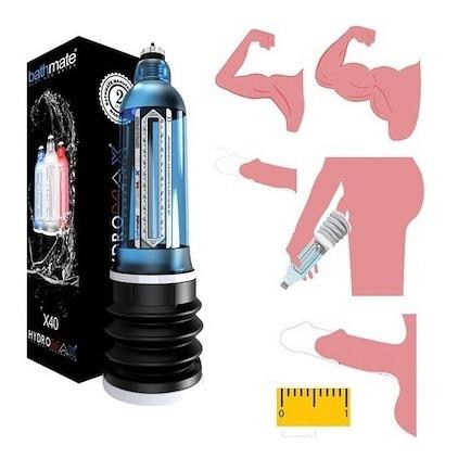hydromax bathmate x20 - x30- 7 - x40 - a domicilio gratis