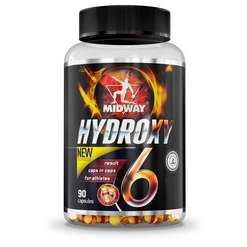 hydroxy 6 usa termogênico 90 cápsulas - midway