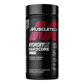 Hydroxycut Hardcore Elite - 100 Cápsulas - Muscletech