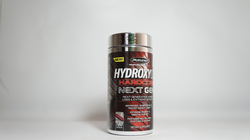 hydroxycut hardcore next gen 180 caps, quemador de grasa