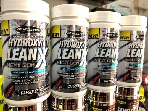 hydroxycut leanx potente quemador de grasa de muscletech 25d