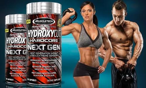 hydroxycut next gen 100 capsulas (quemador de grasa)