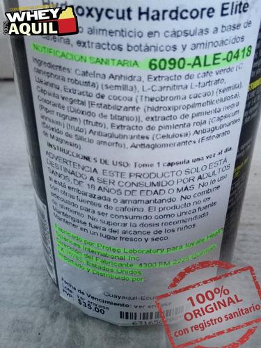 hydroxycut quemador grasa adelgaza baja peso + gratis