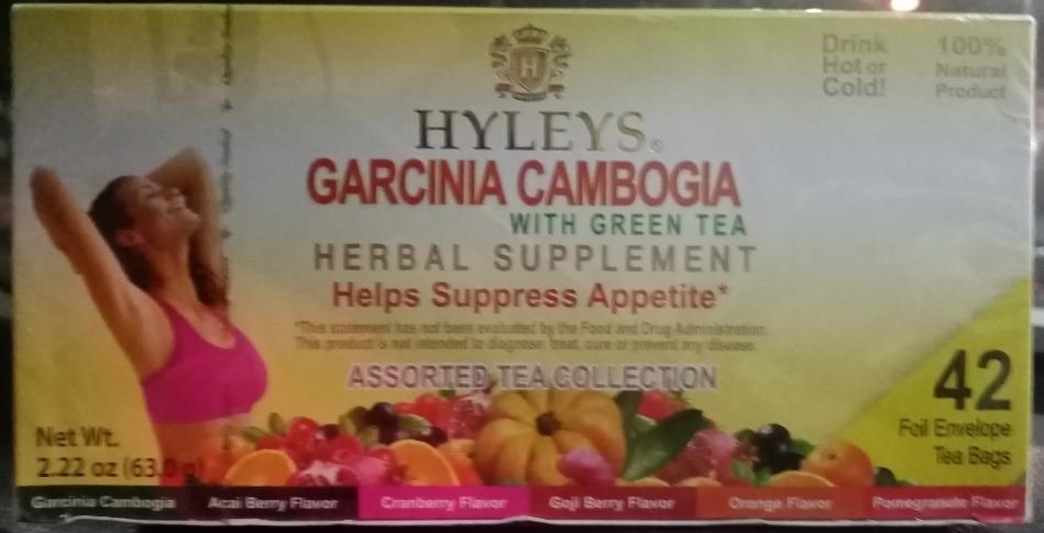 Hyleys Garcinia Cambogia Assorted Tea Collection 42 Bolsita