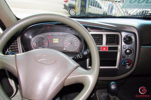 hyndai hr chassi longo 2008/2009 carroceria de madeira