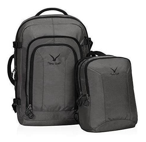 hynes eagle 2 en 1 mochila de viaje 48l mochila de mano con