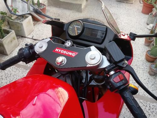 hyosung gtr250cc 2009 carburador (coreana) al dia