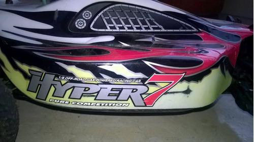 hyper 7 tq sport ofna rtr macstar .28 engine automodelismo