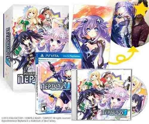 hyperdimension neptunia u: limited edition - con dakimakura