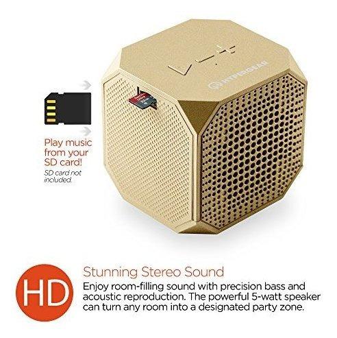 hypergear sound cube altavoz bluetooth inalambrico portatil