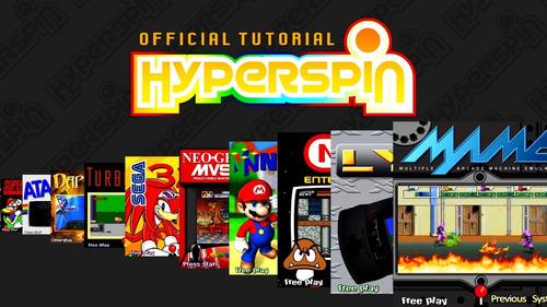 hyperspin 200 gb en disco duro externo 2,5