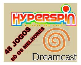Hyperspin Dreamcast + 48 Jogos - Só Os Melhores