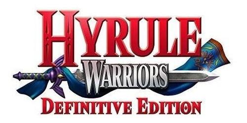 hyrule warriors: definitive edition - nintendo switch