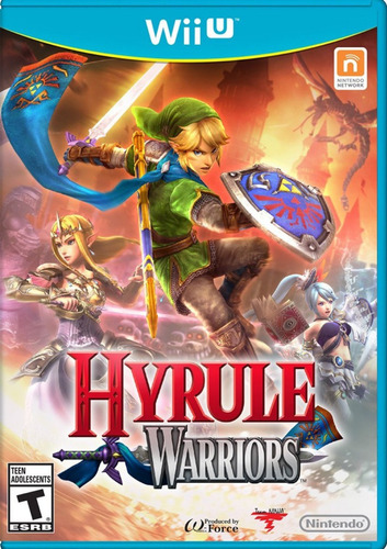 hyrule warriors nintendo wii u nuevo sellado
