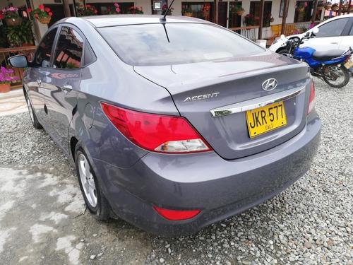 hyundai accent 1600 gasolina 7 cambios 2016