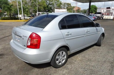 hyundai accent motor 1.6, 2008 gris 4 puertas
