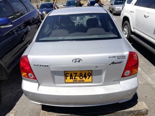 hyundai accent plata 2005