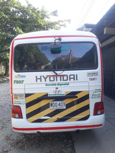 hyundai county 2015