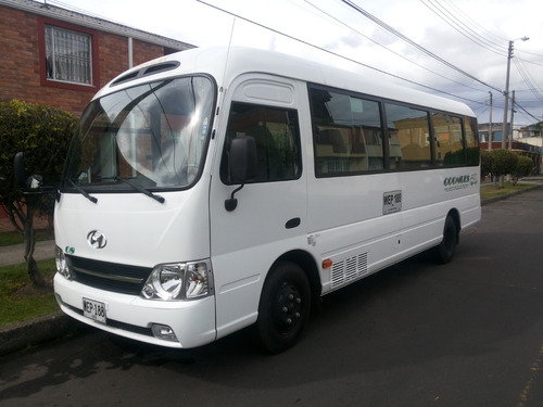 hyundai county servicio especial