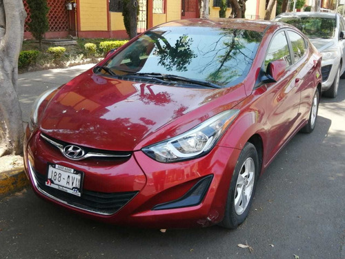 hyundai elantra 1.8 limited tech at 2016