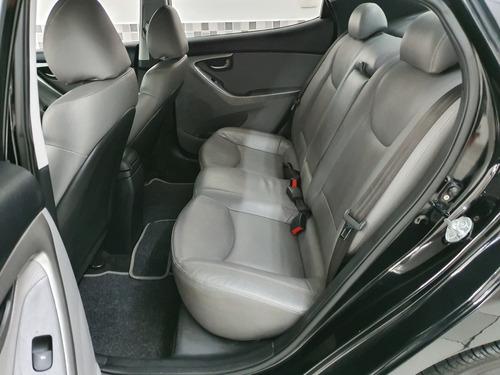 hyundai elantra gls 1.8 2013 preto automático único dono