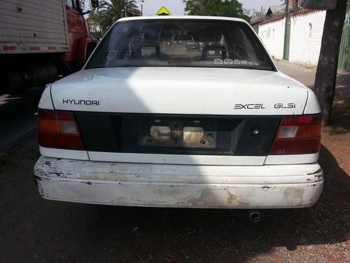 hyundai excel 1991 - 1994 en desarme