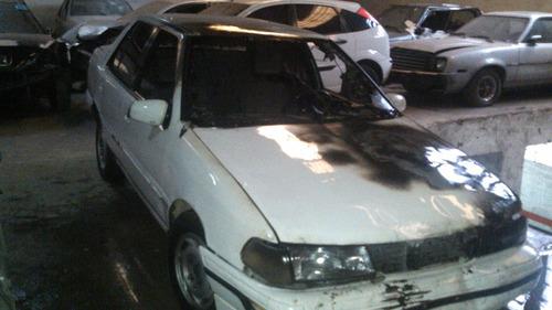 hyundai  excel gls 4dr año 1994 dado de baja sin motor