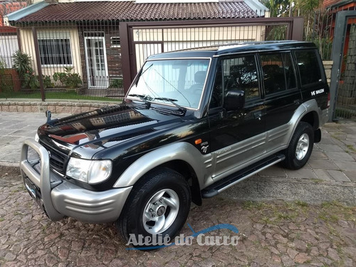 hyundai galloper 4x4 exceed v6 98 vendida ateliê do carro