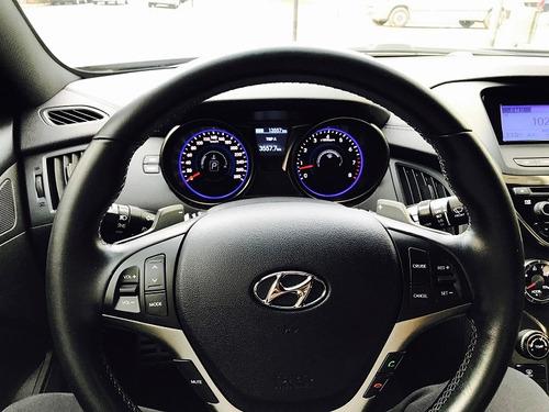 hyundai genesis coupe 3.8 v6 8at full seguridad premium!!!